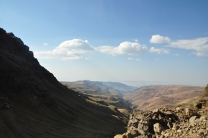 The view from Sani Pass