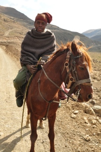 Basotho local & his pony