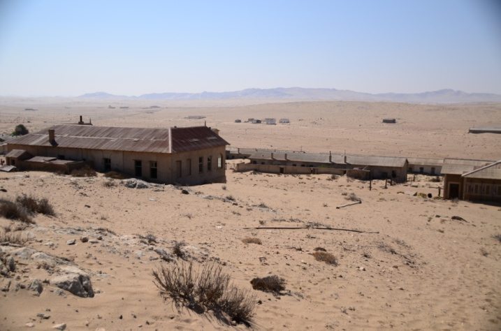 Kolmanskop -Ghost Diamond mining town