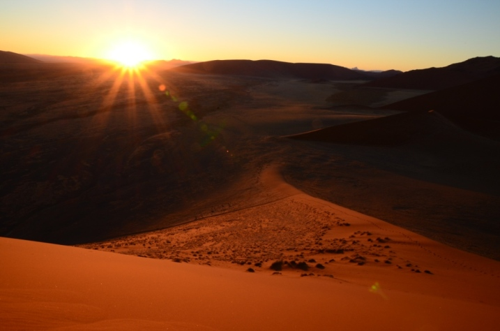 Sunrise from Dune 45