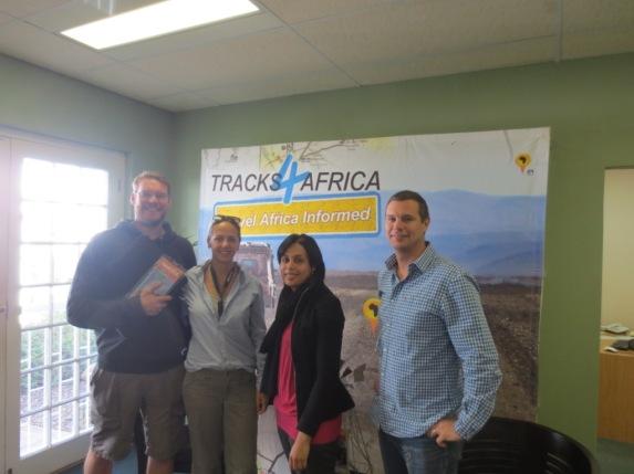 Tracks4Africa team