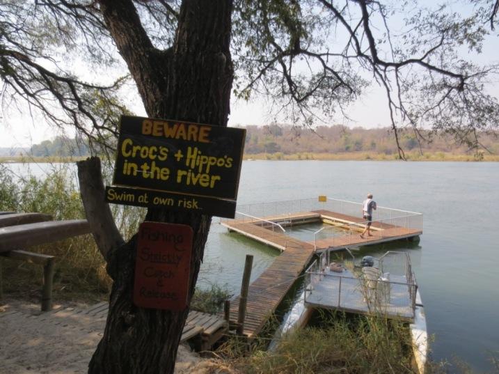 The croc-cage, Ngepi