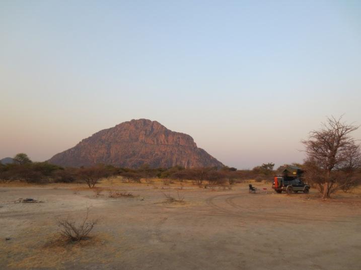 Tsodilo Hills camp