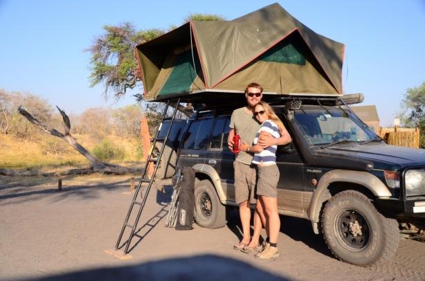 Camping at Savuti