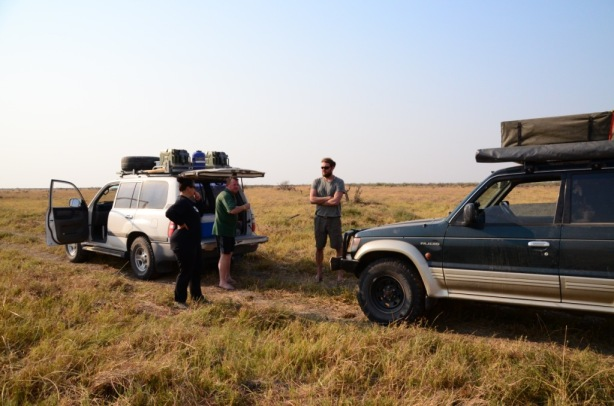 Tea break on the Savuti marshes