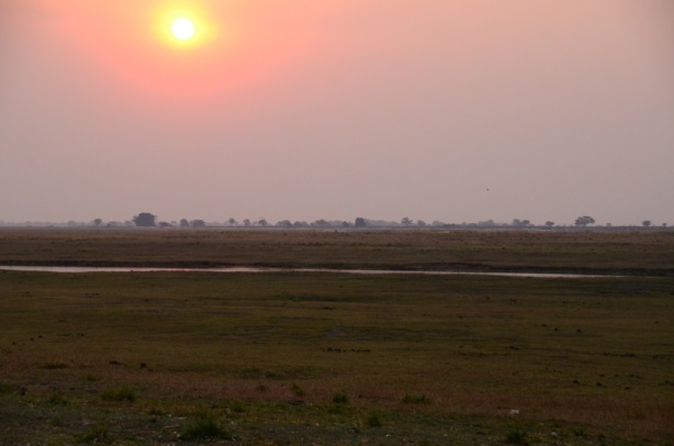 Sunset at Chobe