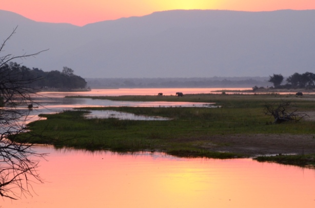 Sunset at Mana Pools