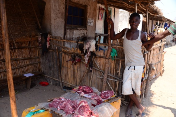 Local butcher - goat anyone?