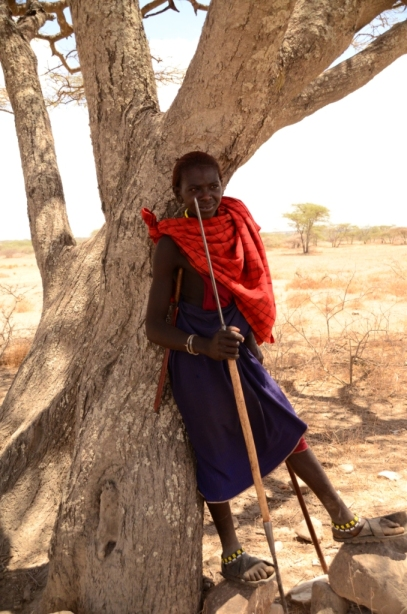 Our friendly Masai Warrior