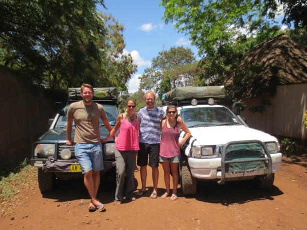 Team shot with Taleah, Wynand and their Zeb mobile