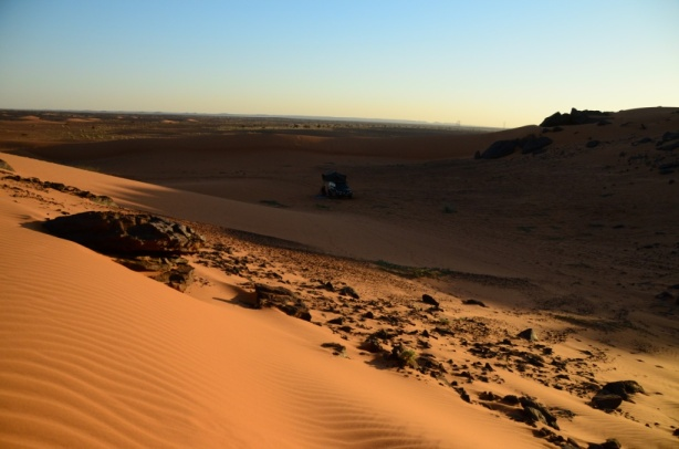 Our desert camp