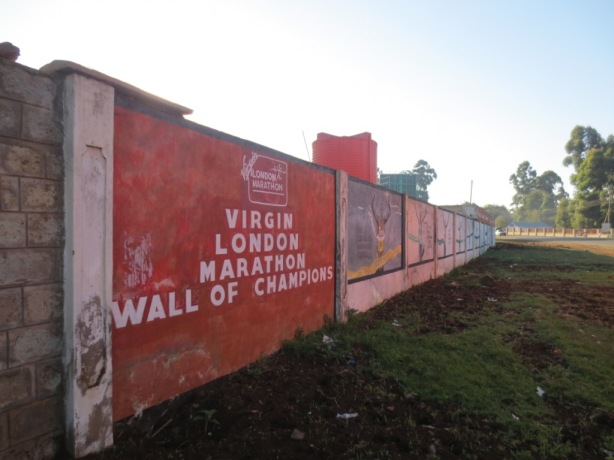 Eldoret - Wall of champions