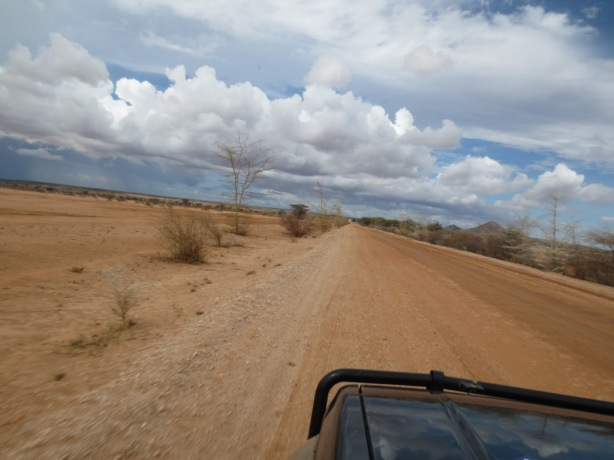 A dry start to the journey towards Marsabit