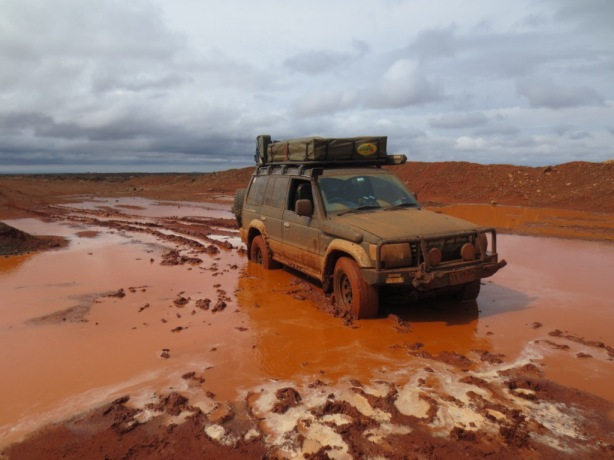 Our turn to get bogged