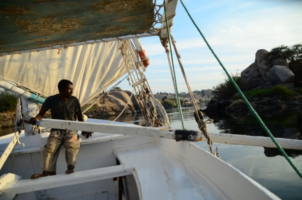 Hard work for some on the Felucca!