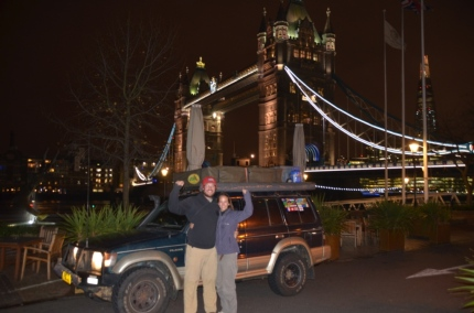 We bloody did it! Tower Bridge London